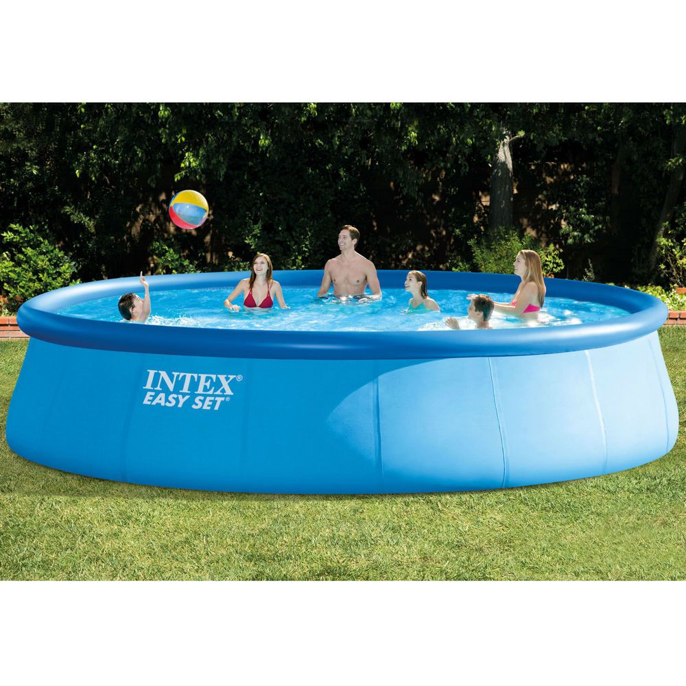 Above ground swimming pool portable backyard w filter