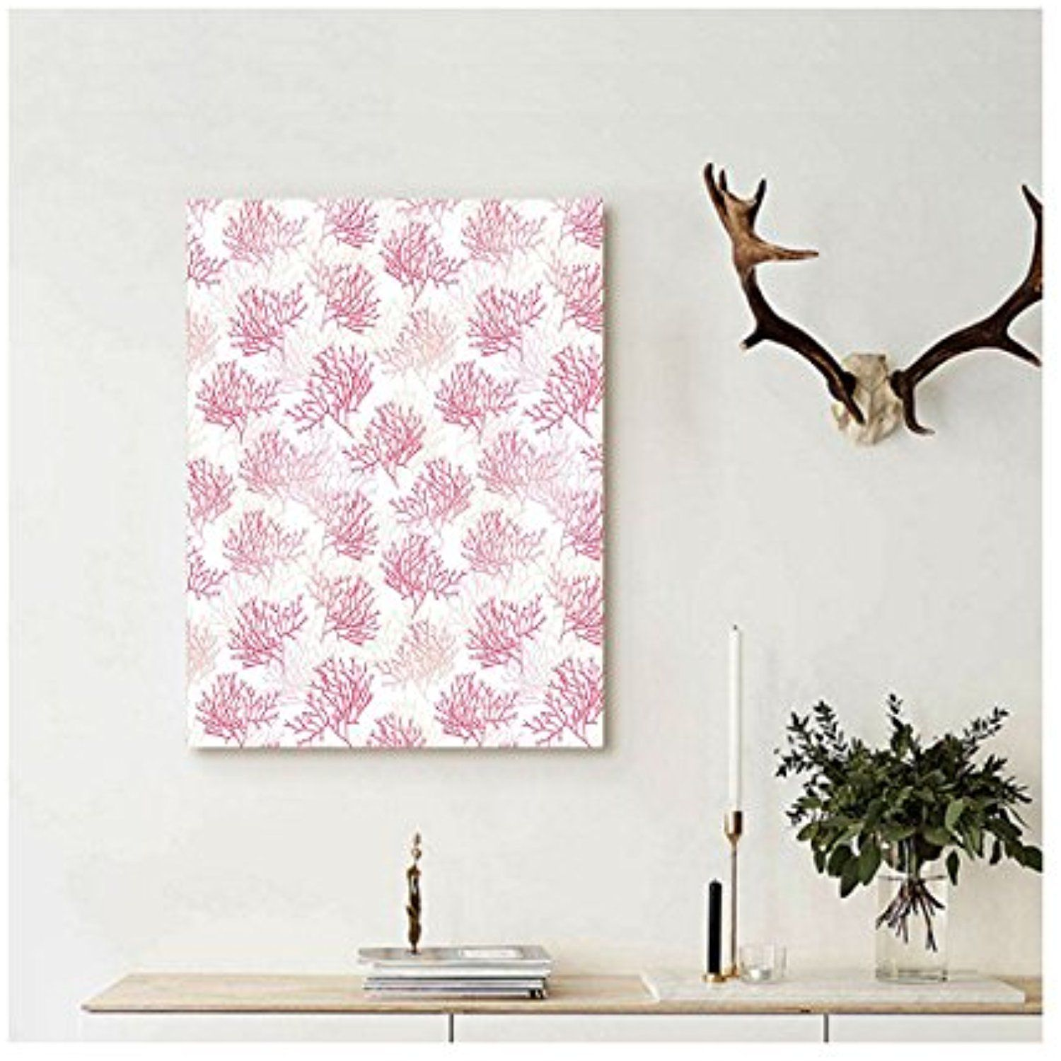 Liguo custom canvas coral decor shallow water elements with