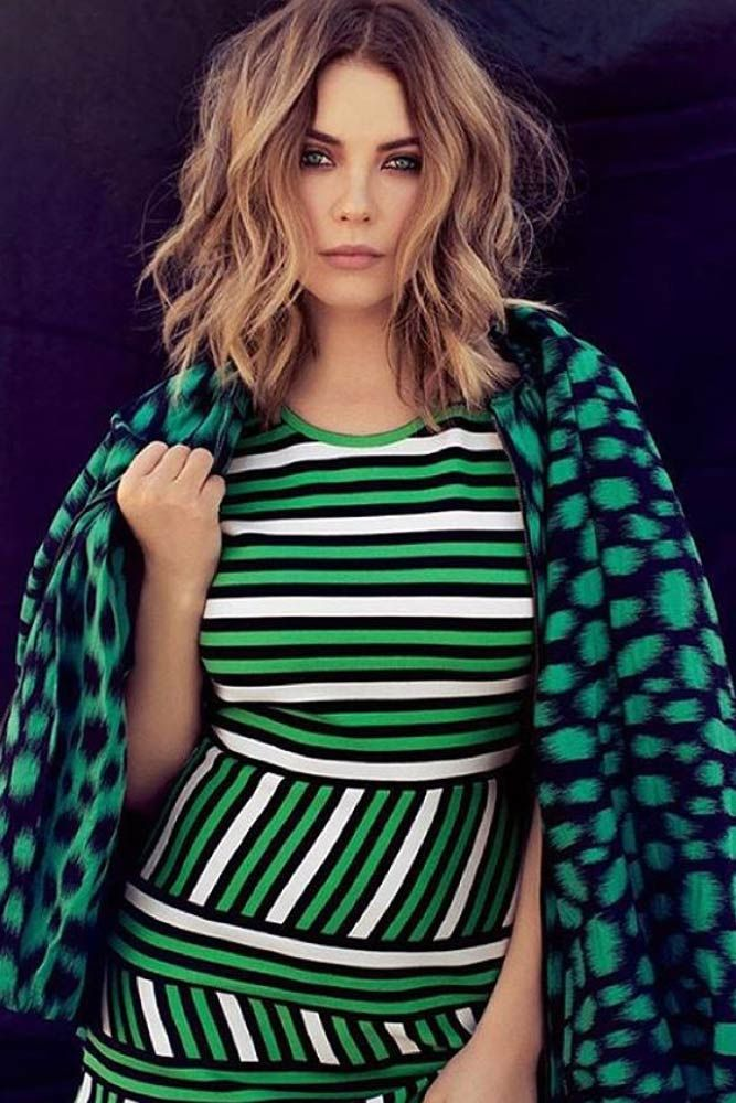 Medium Length Hairstyles To Look Unique Every Day Ashley Benson