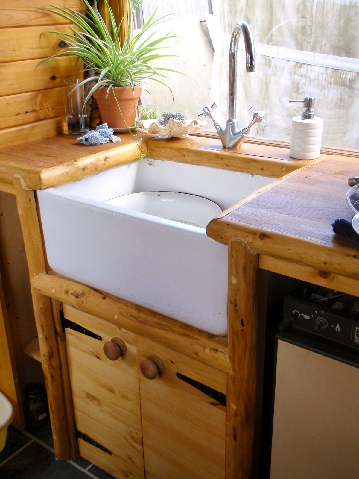 Kitchen And Bathroom Wagon   Off Grid Portable Home. Awesome Addition To  Yurt.