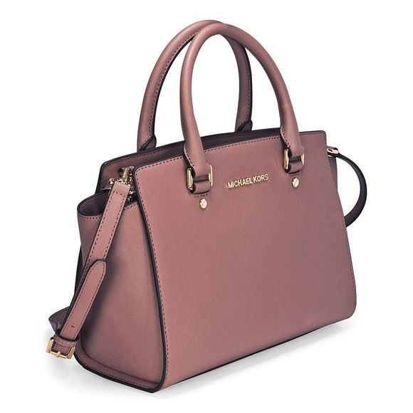 33661e652411 ... large top zip satchel 324c9 4e552  australia michael kors medium selma  dusty rose nwt limited this is a new with tags michael