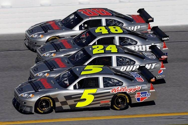 Car Nascar Jeff Gordon Jimmie Johnson Hd Wallpaper Nascar Racing Nascar Cars Nascar