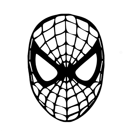 Spiderman die cut vinyl decal pv365