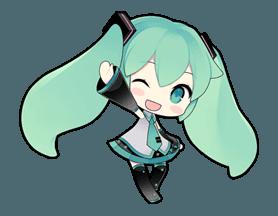 Hatsune Miku Line Stickers Line Store Hatsune Miku Hatsune Anime Chibi