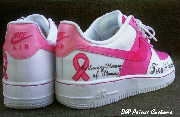 8dd6e0c27730d Breast Cancer Support Running Sneakers (Even though I hate running ...
