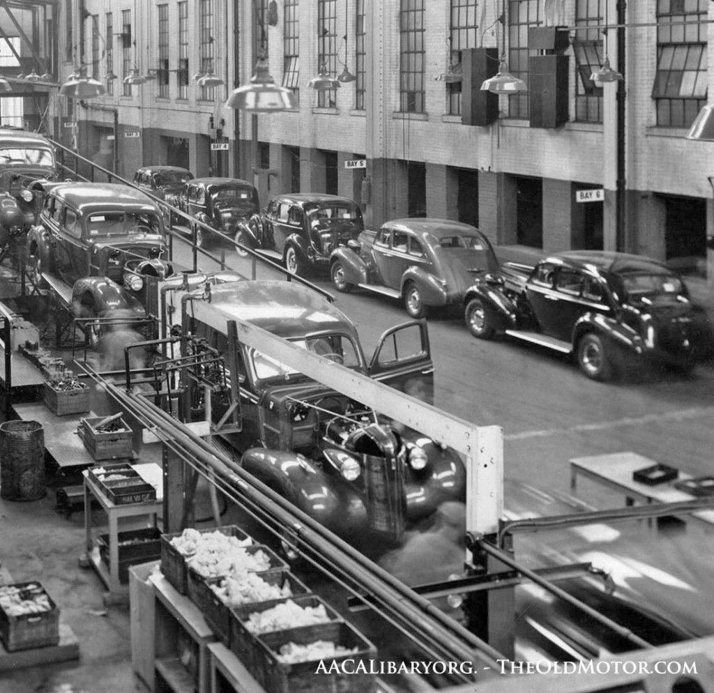 1937 Buick assembly line Flint Michigan   20s & 30s Cars ...