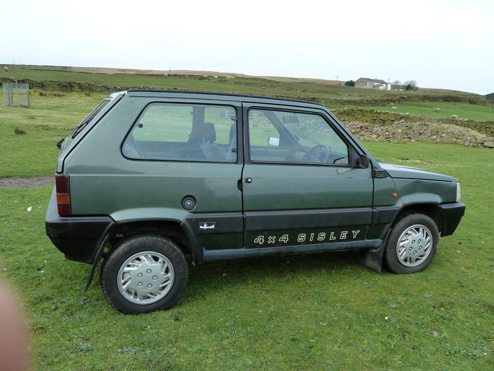 1990 Fiat Panda Sisley 4x4 Classic Green Mot Low Mileage Fiat Panda Fiat Panda