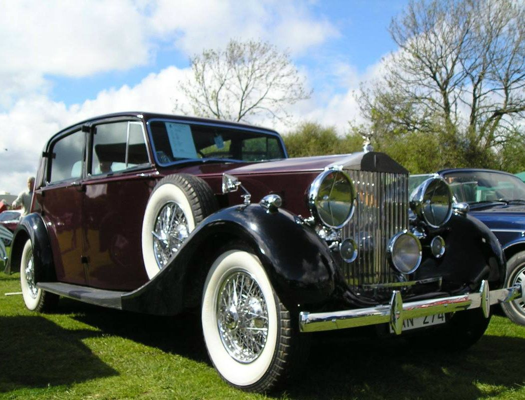 1938 Saloon by Park Ward (chassis WRB47)