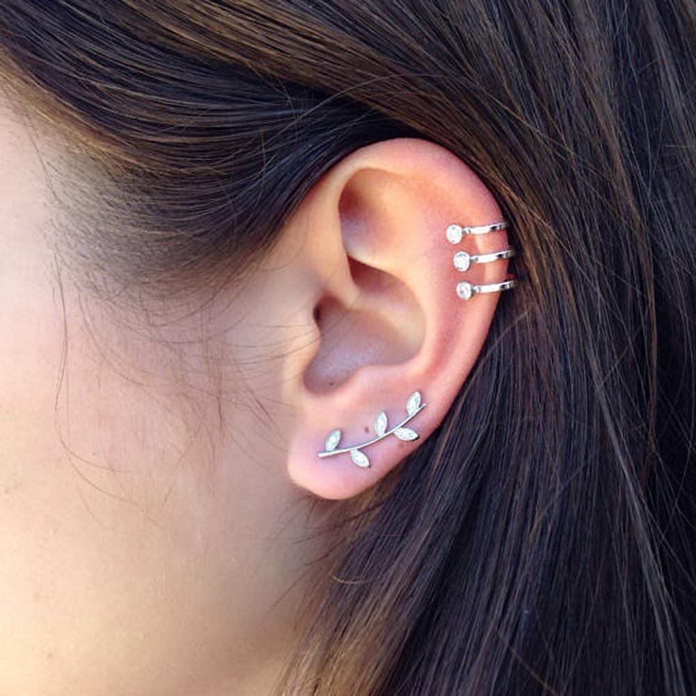 what is an ear cuff piercing