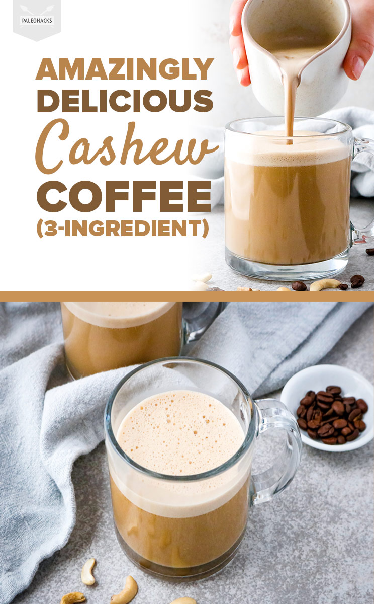 You Guys This Keto Cashew Coffee Tastes Like A Dream Recipe Cashew Coffee Dairy Free Coffee Blended Coffee Drinks