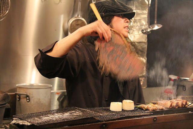 EATspeak: Sumiyaki (yakitori restaurant) 炭焼き
