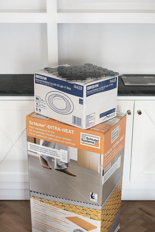 Diy Heated Floor Tile Ditra Heat Kit Roomfortuesday Com Lowespartner In 2020 Heated Floors Tile Floor Flooring