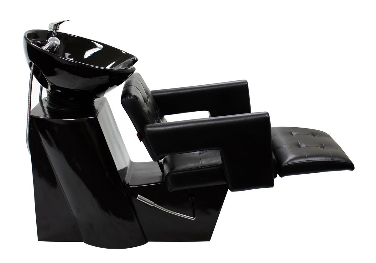 Cc5595d shampoo chair with footrest attachment and bowl