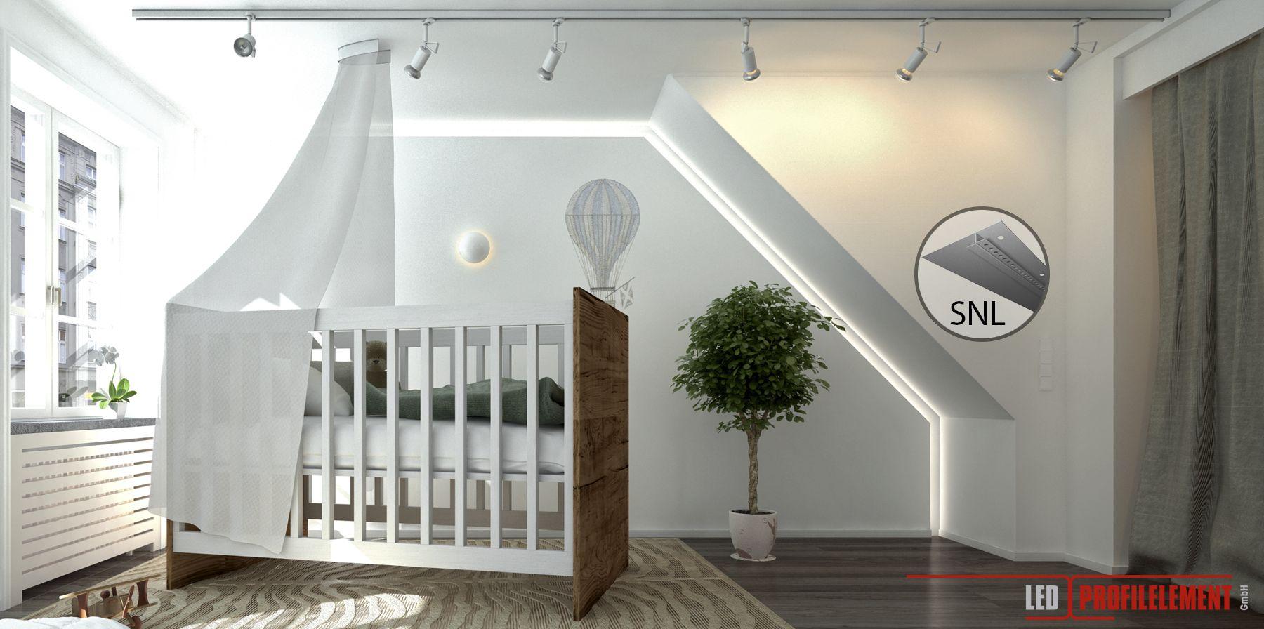 Kinderzimmer mit Indirekter Beleuchtung www