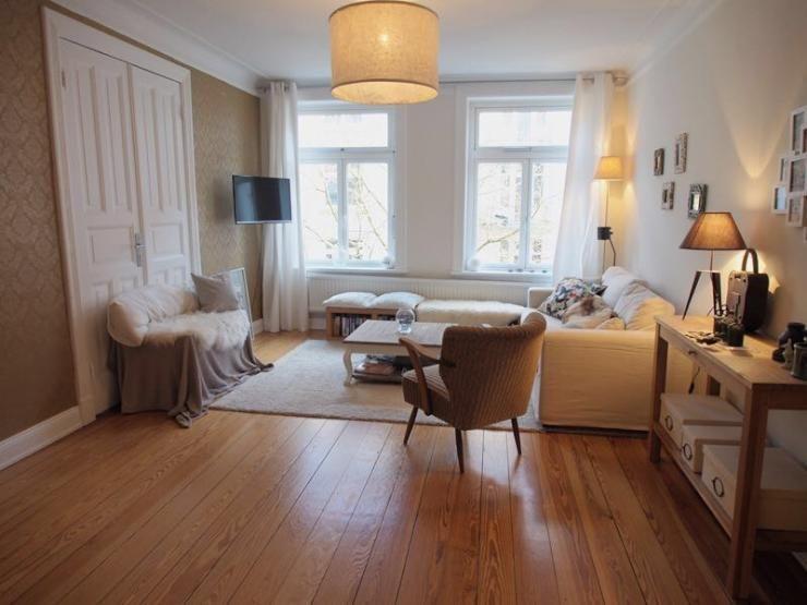 Zimmer Hamburg Eppendorf charmante 3 zimmer altbauwohnung mit offenem wohn ess bereich nähe