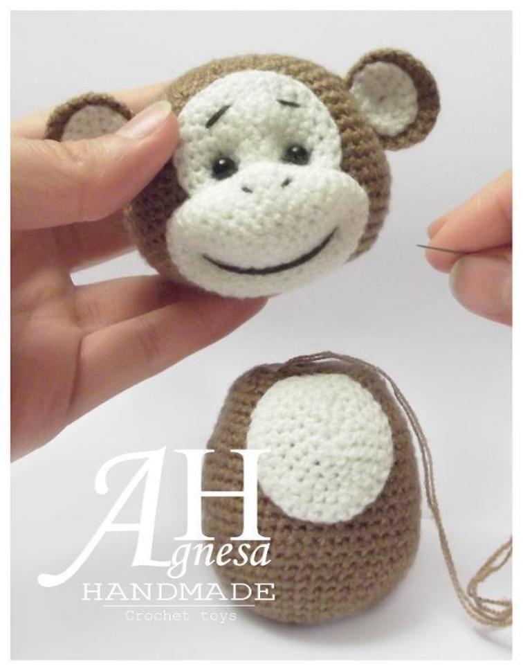 Crochet Monkey | Craftsy | Amigurumi! | Pinterest | Ganchillo ...