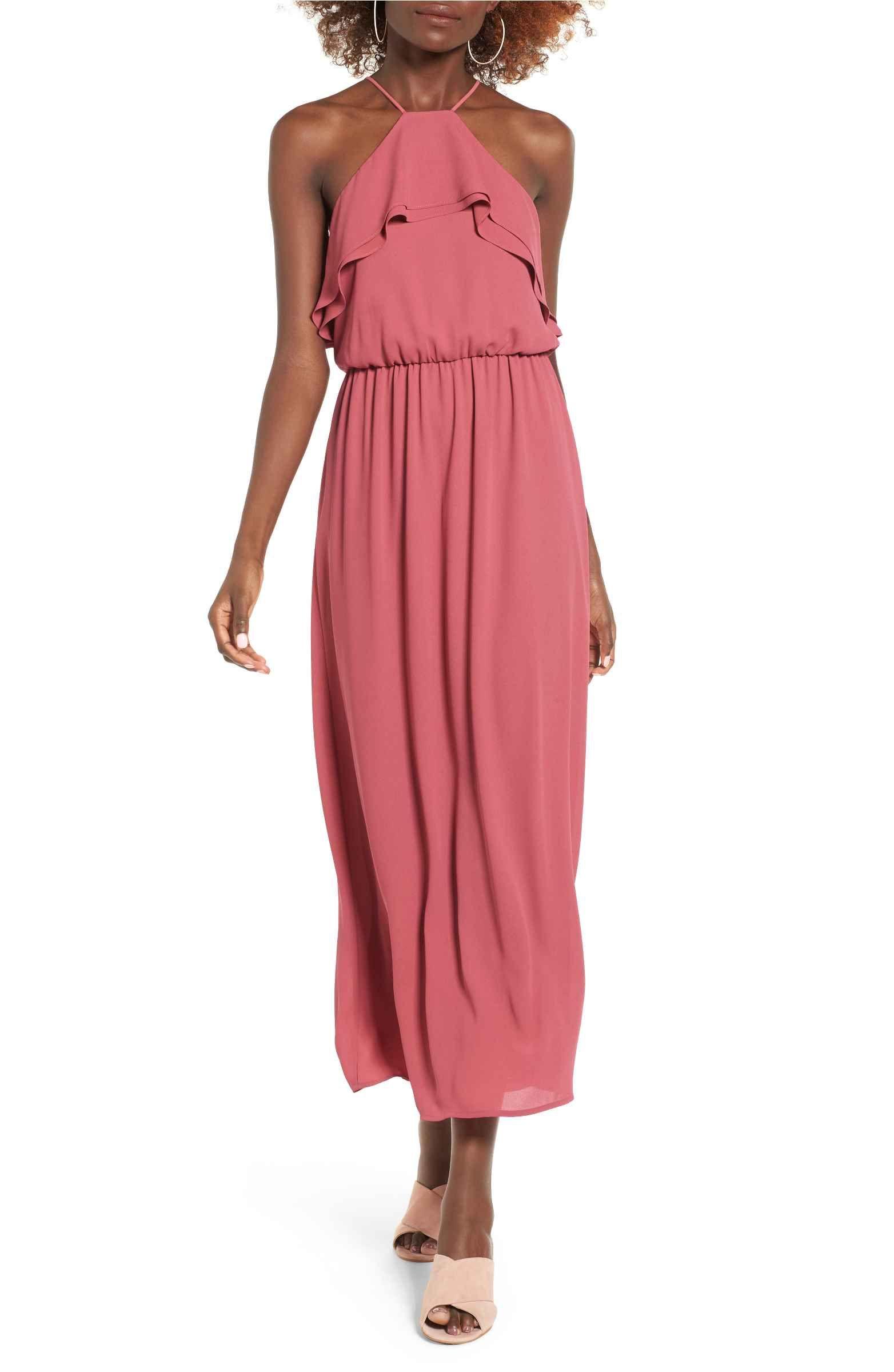 Main Image - Lush Ruffle Maxi Dress | Dress Up | Pinterest
