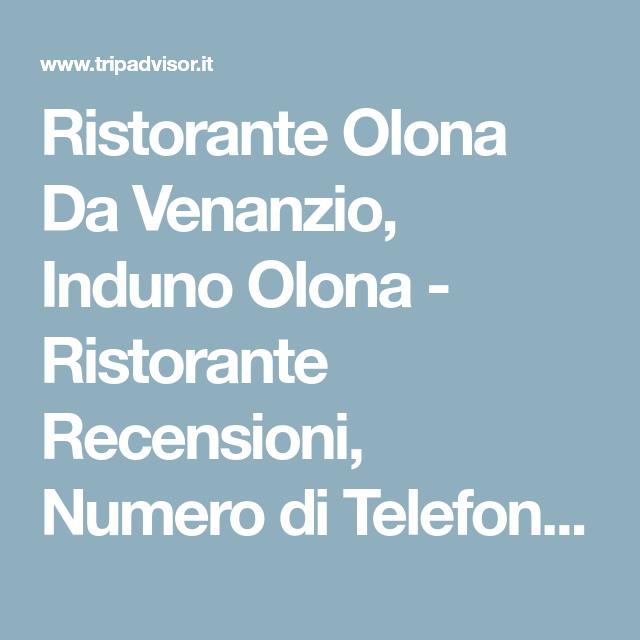 Ristorante Olona Da Venanzio, Induno Olona Ristorante