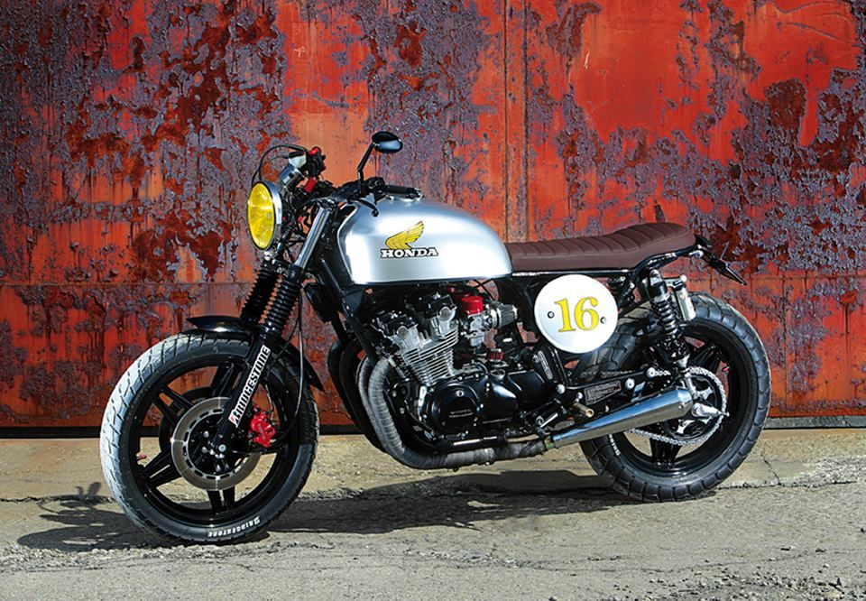 Honda CB Scrambler Vintage Bike New Build Like The Style But - Bridgestone custom stickers motorcycle