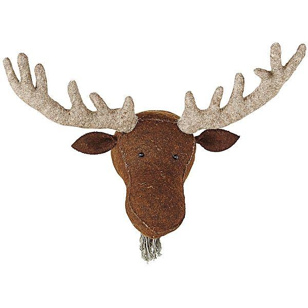 Mounted Moose, Found on Savvyhomeblog.com