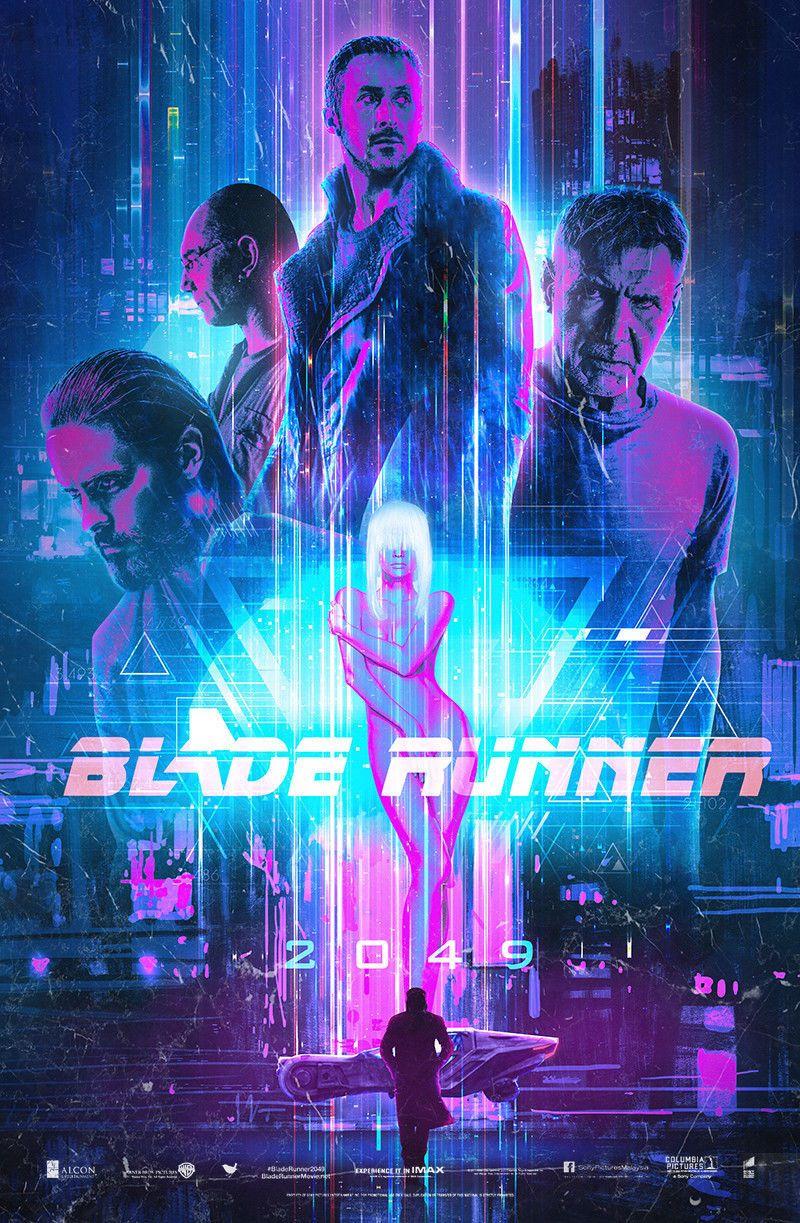 Blade Runner 2049 Movie Poster Ryan Gosling Harrison Ford Art Film Print 13x20 Blade Runner Poster Blade Runner Movie Posters Design