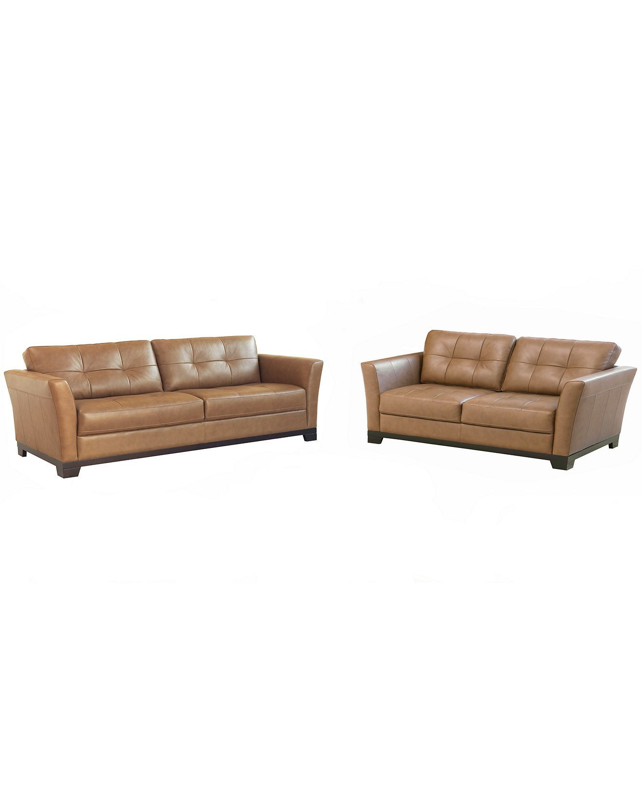 martino leather sofa seagrass macy 39s living room furniture 2 piece set