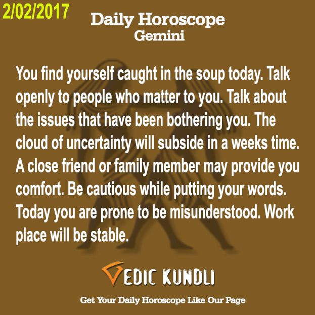 gemini today horoscope