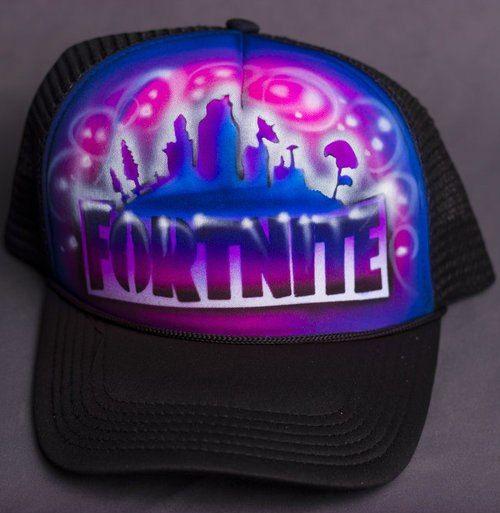 94a034adaa8 shop fortnite snapback hat online with custom gamer tag and airbrush  artwork.  fortnite  airbrush