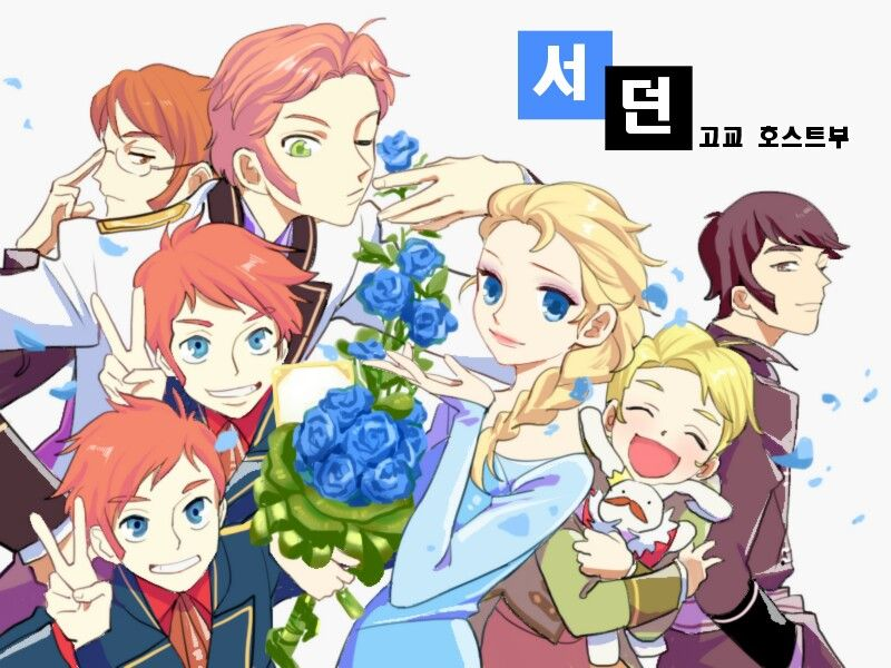 Ouran host club dating sim online