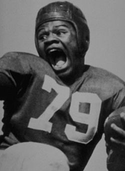George Taliaferro led the Hoosiers to the 1945 Big 10 Football  Championship, fought for equality on the IU campus and became the first  African Am… | Big 10 football