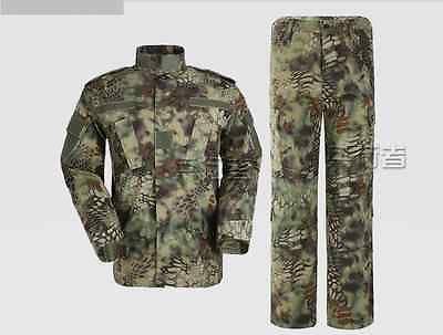 7e55f7d88e2b9 China PLA Woodland Snakeskin Pattern Camouflage Jacket、Trousers ...