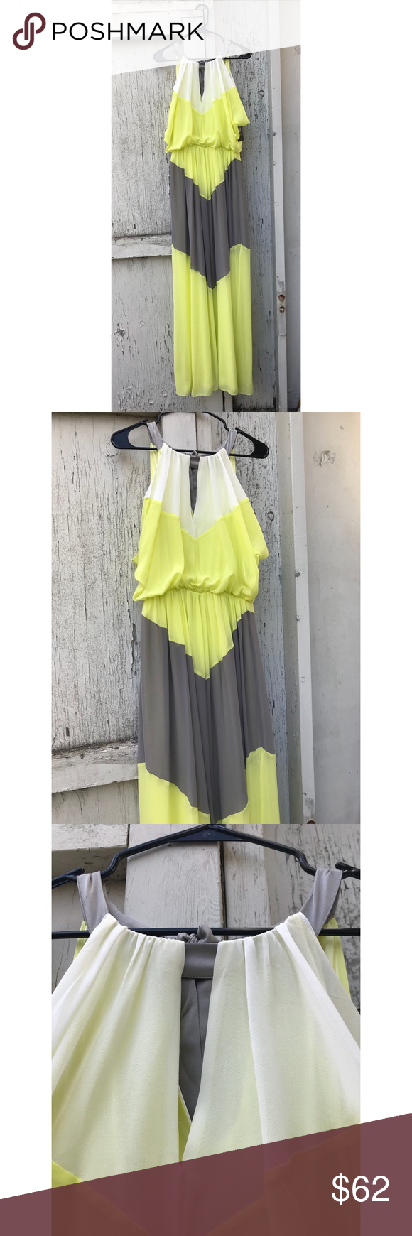 Nwt Vince Camuto Maxi Dress Size 8 Maxi Dress Dresses Maxi [ 1740 x 580 Pixel ]