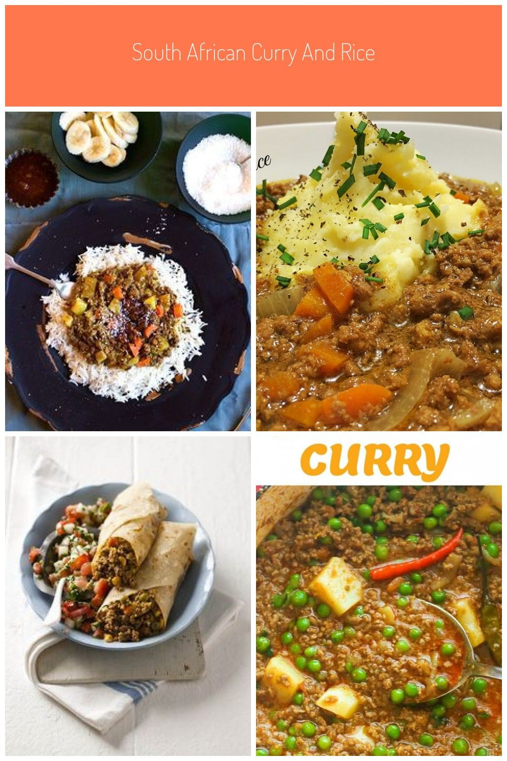 South African Curry Rice Anina S Recipes Curry Mince Recipes