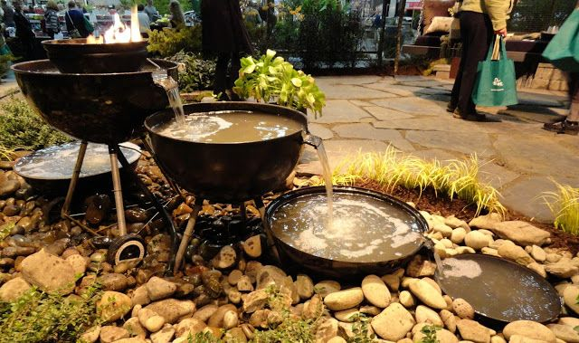 Weber BBQ Fountain | Patio garden, Weber bbq, Garden