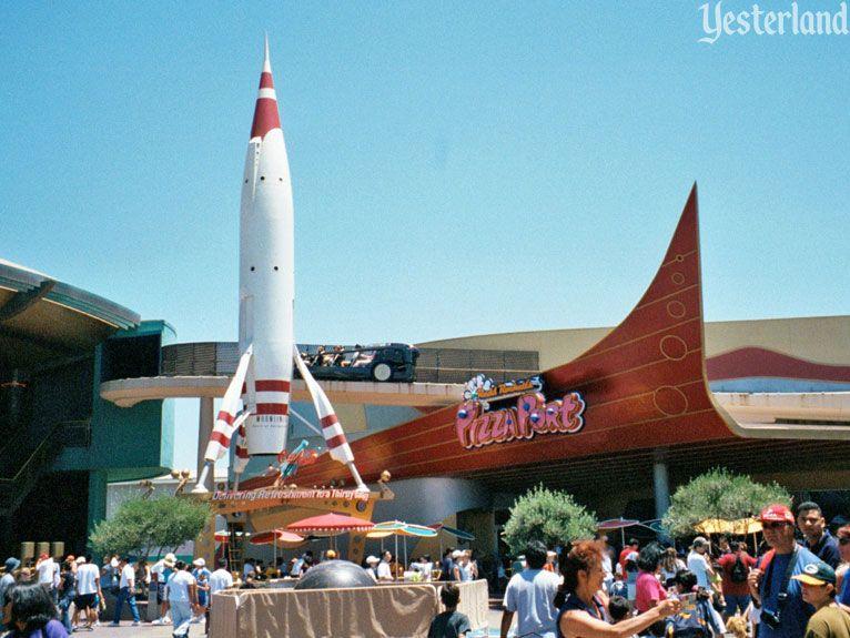 Rocket To The Moon At Disneyland Disneyland Tomorrowland Disneyland Anaheim Vintage Disneyland