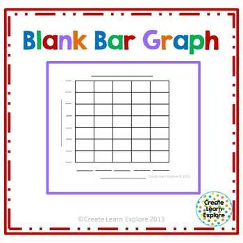 Blank Bar Graph- This is my main free item! TpT Math Lessons - bar graph templates free