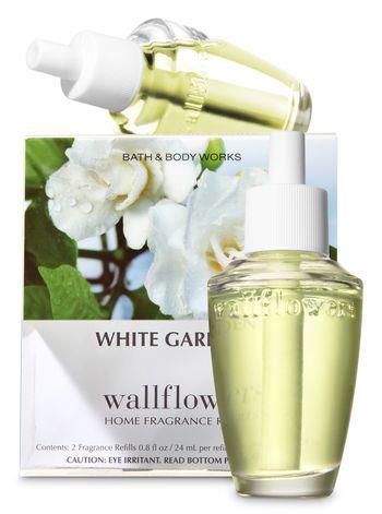 White Gardenia Wallflowers Refills 2 Pack White Gardenia Bath