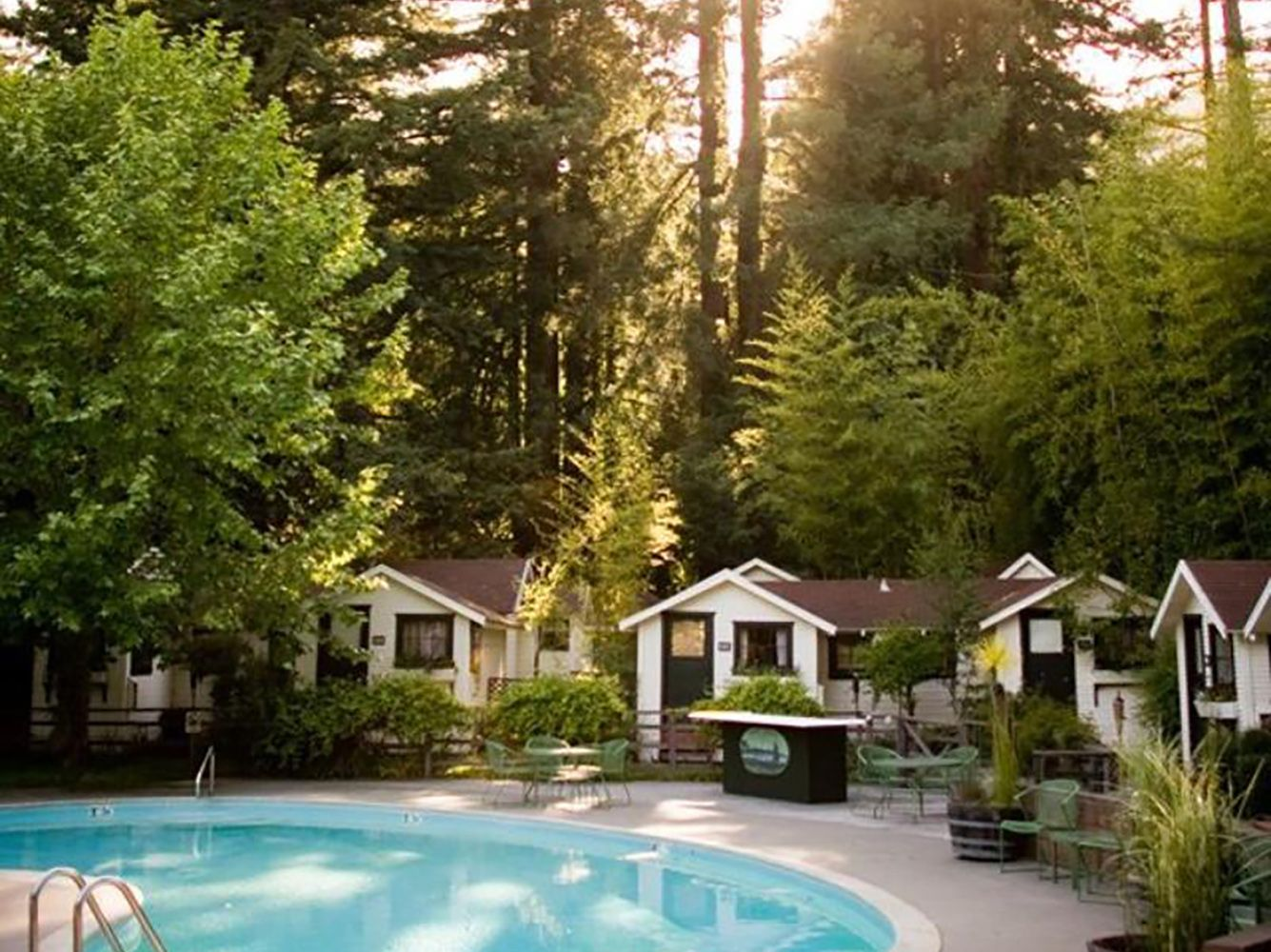 Dawn Ranch Resort Cottage Style Hotel Along Sonoma S Russian