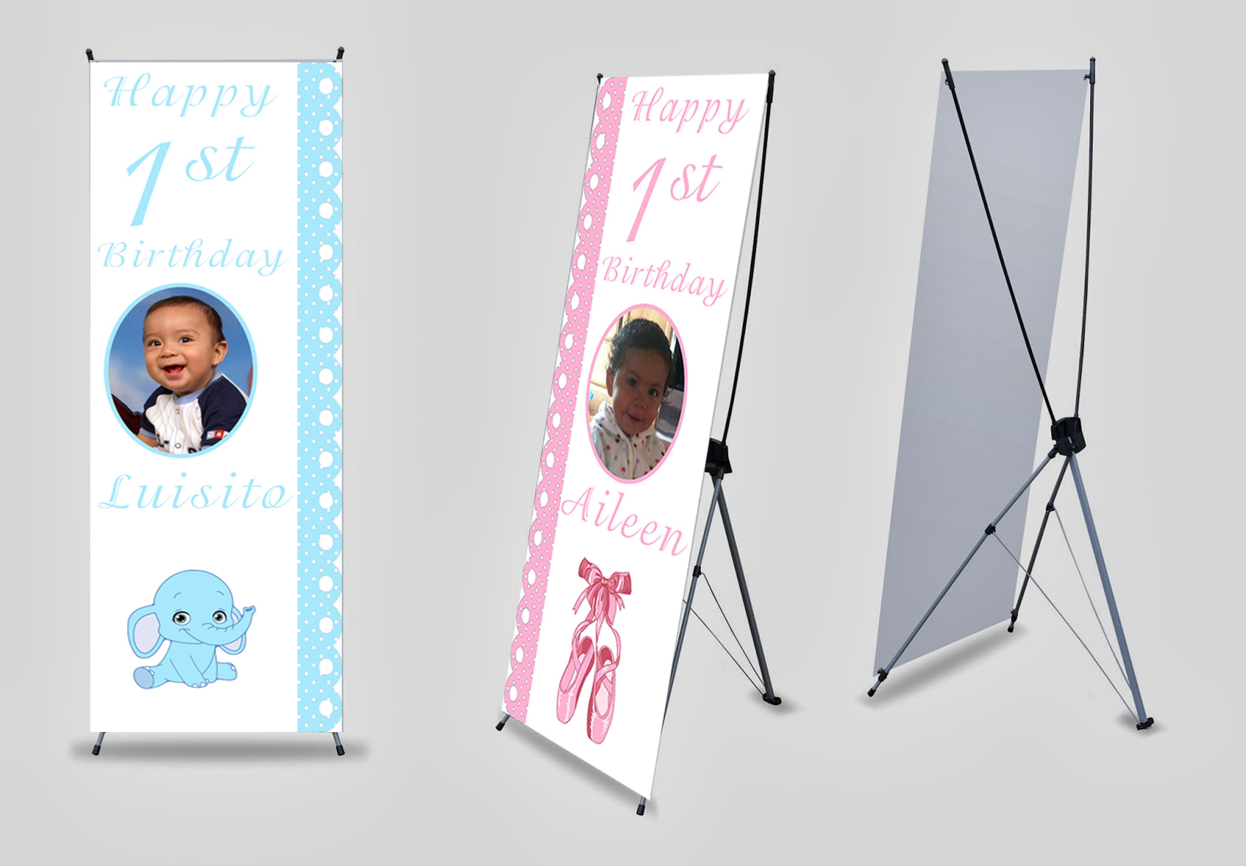 Baby Shower X Banner