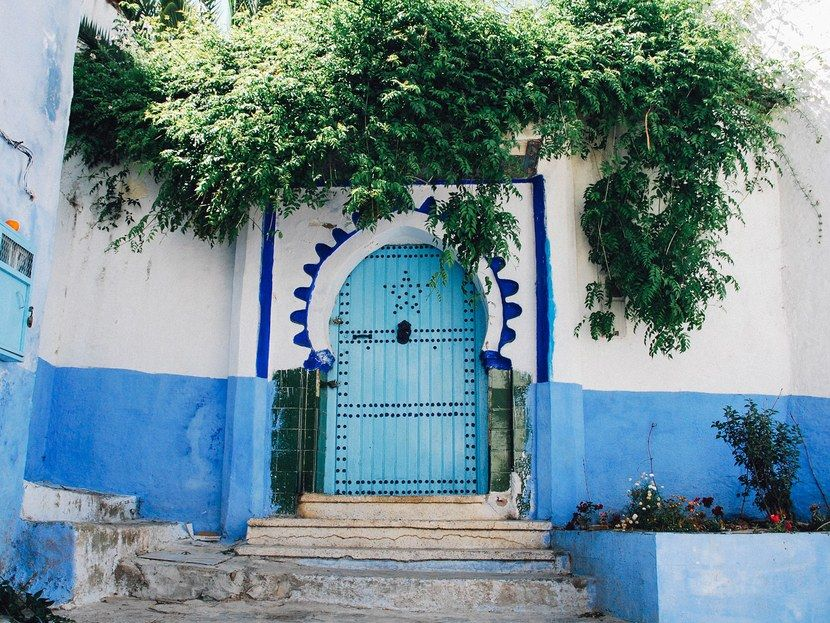 """Laucht found the ancient city using very modern means. """"I actually discovered Chefchaouen through someone I follow on Instagram—I ended up going down a total geo-tag rabbit hole,"""" she says. """"I was planning a trip to Morocco at the time and considering all the big names like Marrakech, Fez, Casablanca. I'd never heard of Chefchaouen and was so intrigued by this little town painted entirely in blue. I have a thing for blue hues, so it was a kind of a match made in heaven!&quo..."""