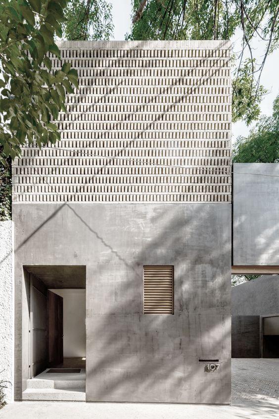 C mo renovar tu fachada r pidamente te ense amos tips que for Renovar azulejo bano concreto cera