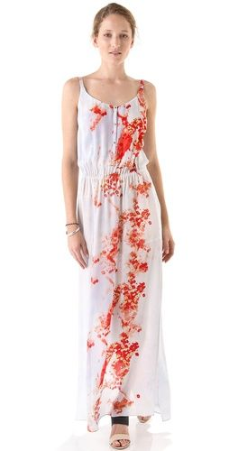 A.L.C. Luisa Dress. This can be a jumpsuit. but the colors here are too much of a contrast. the flowers are not too complimentary.