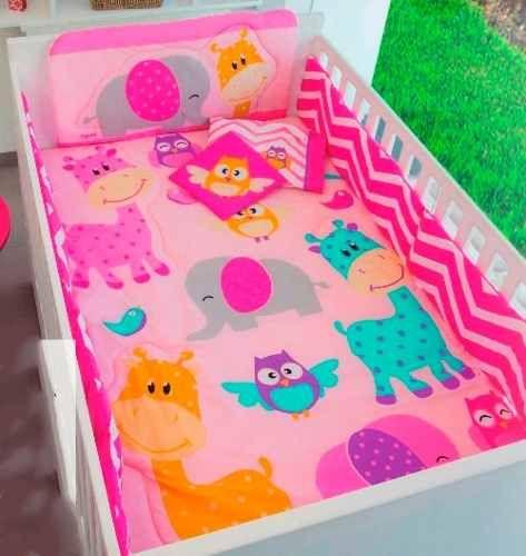 579fc613e Set De Edredon Para Cama Cuna Corral Para Bebe Baby Safari en Mercado Libre  México Edredones