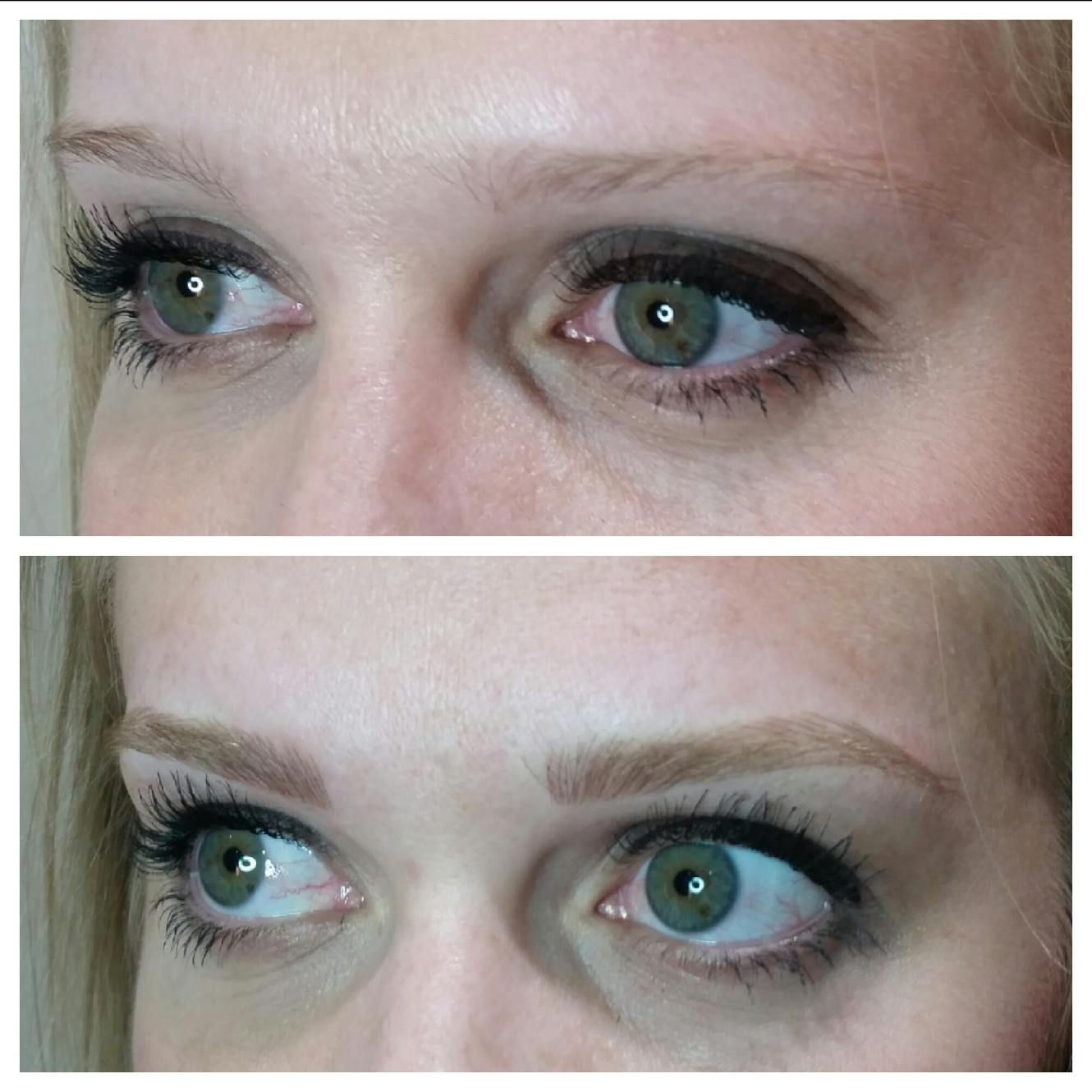 Everything you need to know about microblading! Blonde