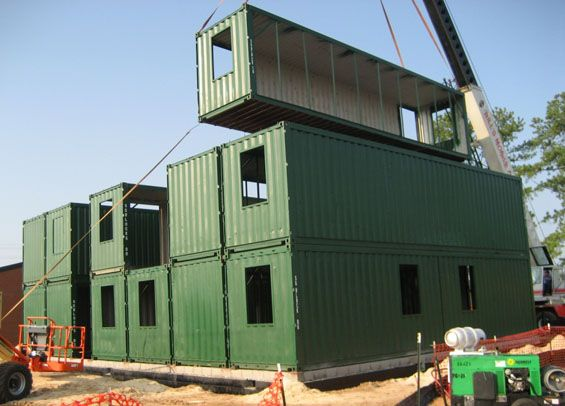 cargo container homes | Shipping Container Homes | Holz Haus ...