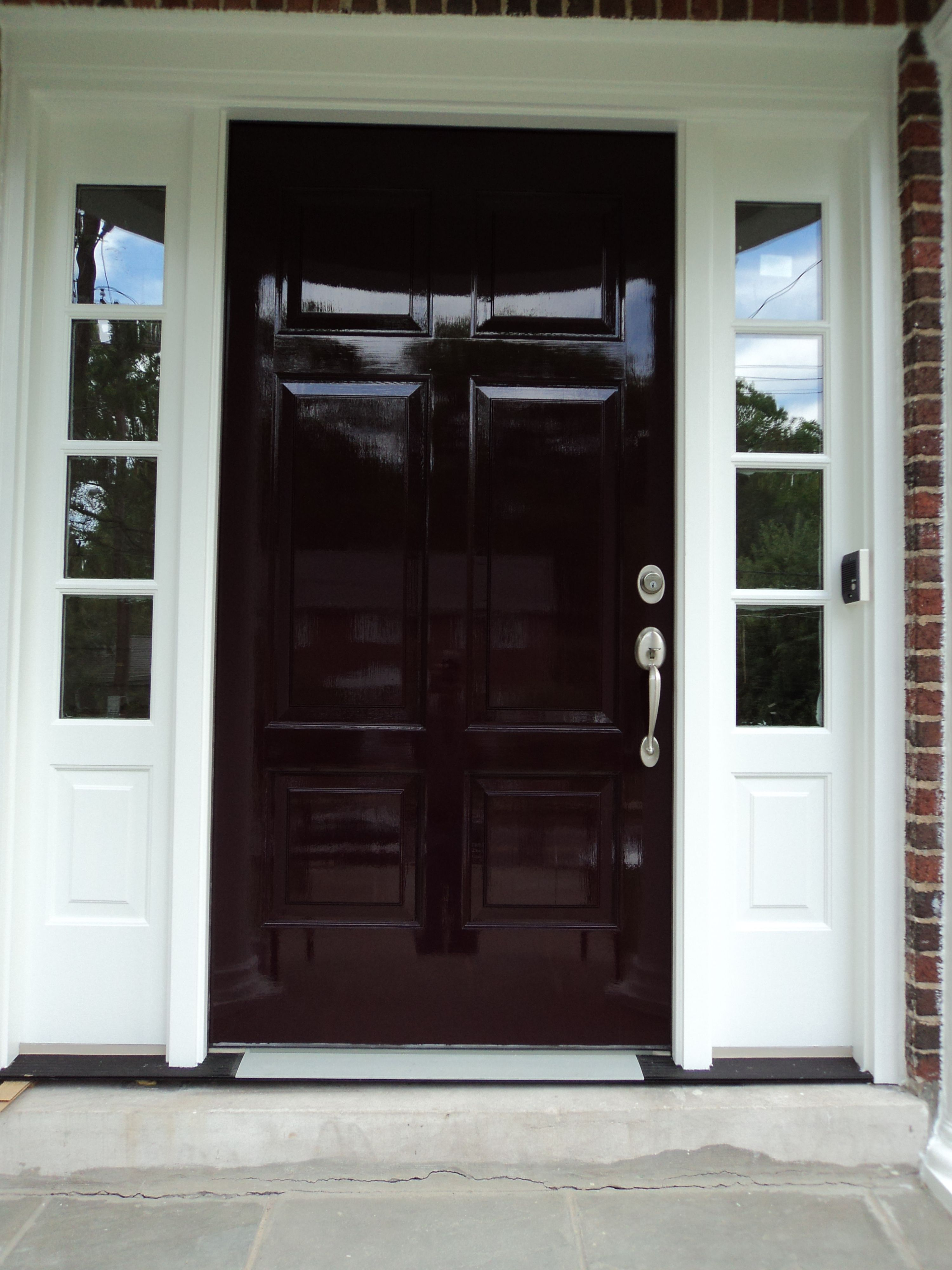 Pin By Eric Linkins On Eric Linkins Custom Painting House Front Door Design Fine Paints Of Europe Outdoor Remodel