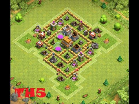 New Coc Th 5 Base 11