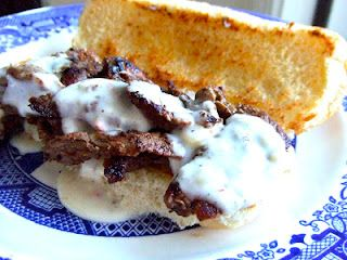 Missouri Cheesesteak Sandwich