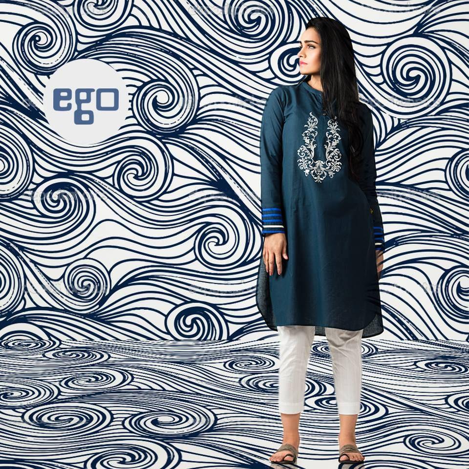 Shirt design latest 2017 - Ego Kurtas Shirts Summer Collection 2016 2017 Stylesgap Com