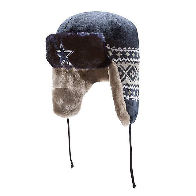 98d46b5bdaf5b Dallas Cowboys New Era Team Trapper Knit Cap